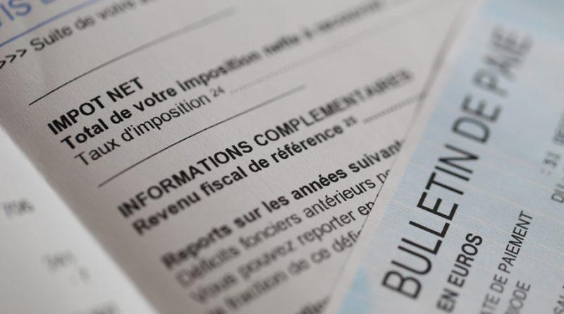 impôts à la source